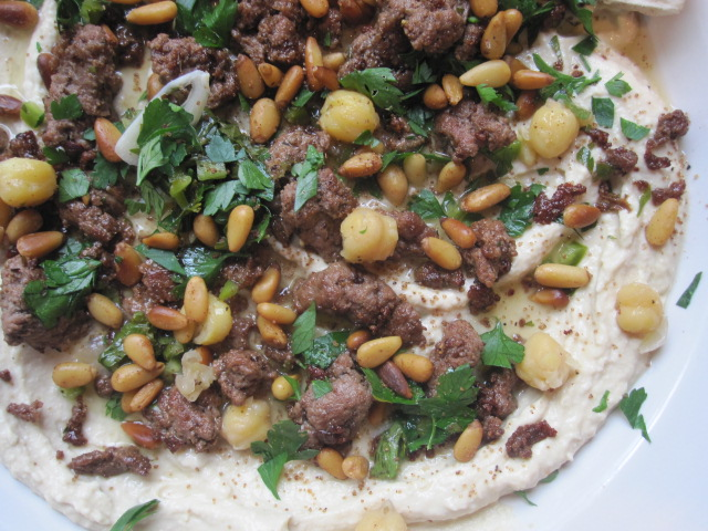 Stirring the Pot: Hummus Kawarma (Lamb) with Lemon Sauce