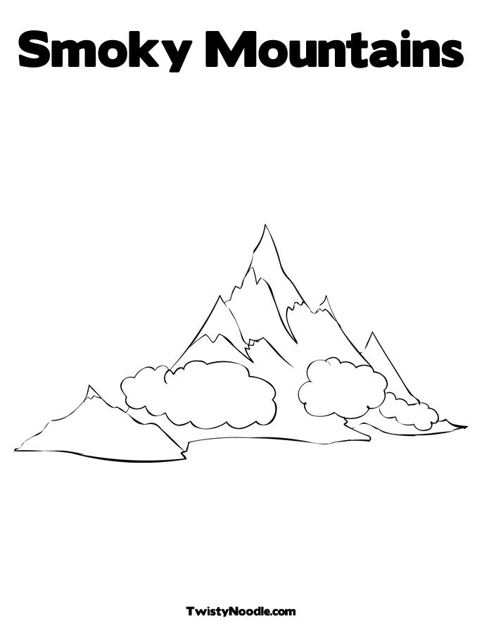 Mountain Pictures Mountains Coloring Page Coloring Pages Of Mountains