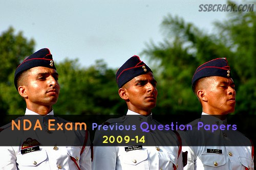 Download NDA Exam Previous Question Papers and Sample Papers