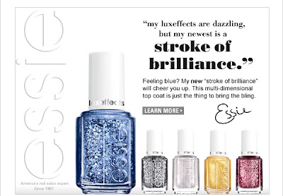 Essie Luxe Effects promo material