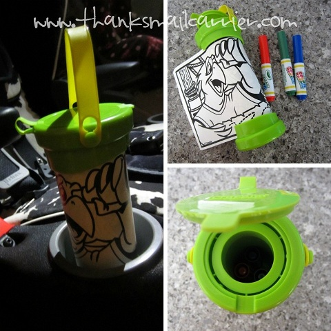 Crayola Color Wonder Travel Tube