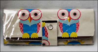 owl paper vinyl wallet