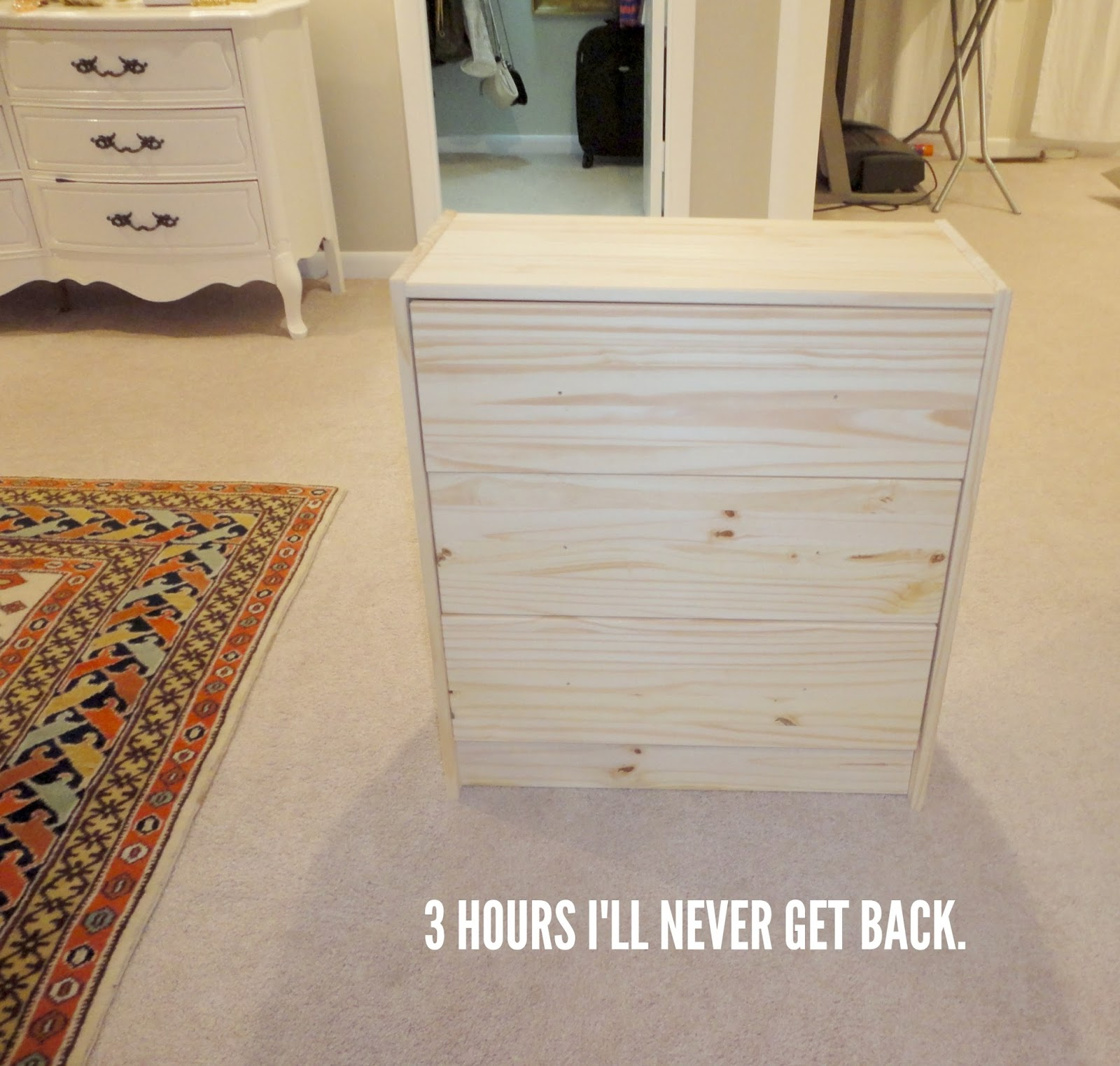 LiveLoveDIY DIY Ikea Rast Makeover With Weathered Gray Wood Stain