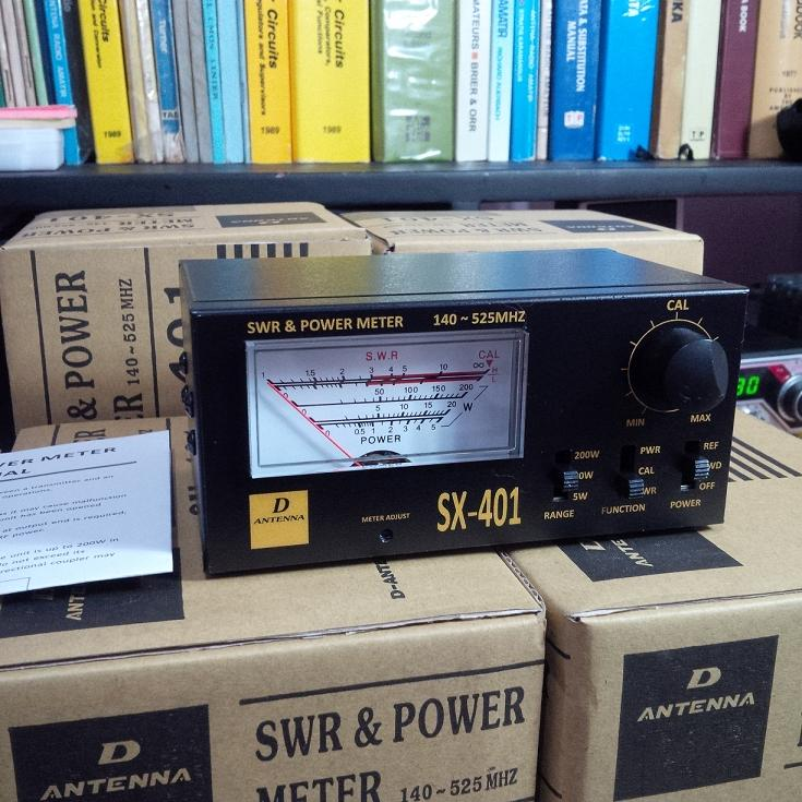 SWR + POWER METER VHF/UHF