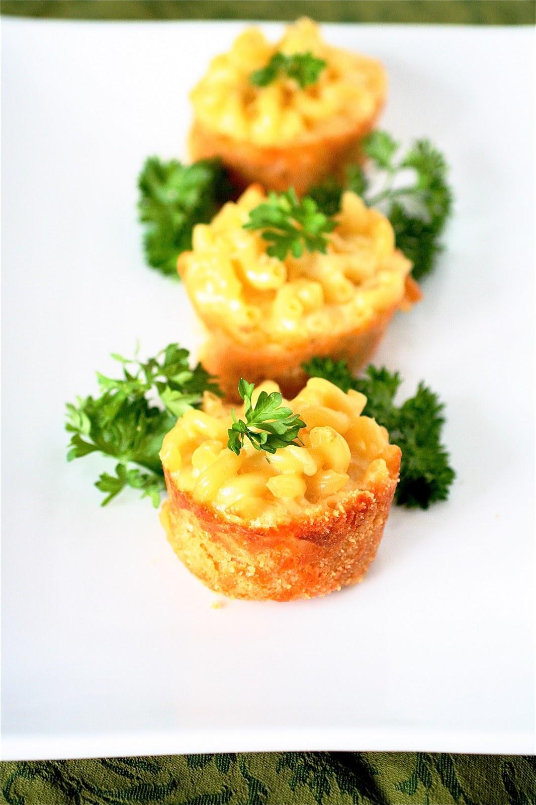 Temecula Make Ahead Mini Lobster Mac 'n Cheese Appetizers | My Sweet California Life