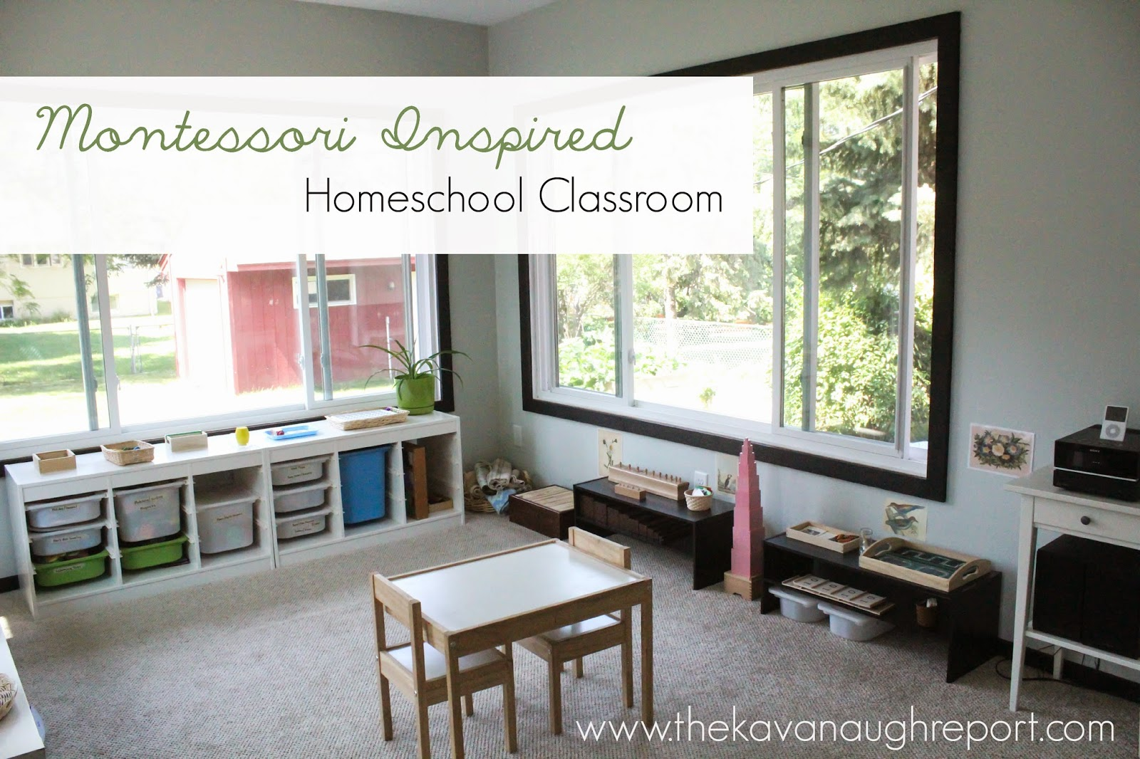 Montessori Homeschool Classroom