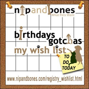 Nip and Bones Wish List