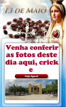 DIA 13 DE MAIO EM NOSSA PARÓQUIA