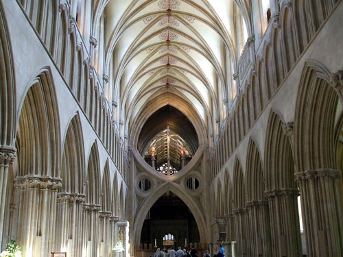 Wells Cathedral, Somerset, about Britain