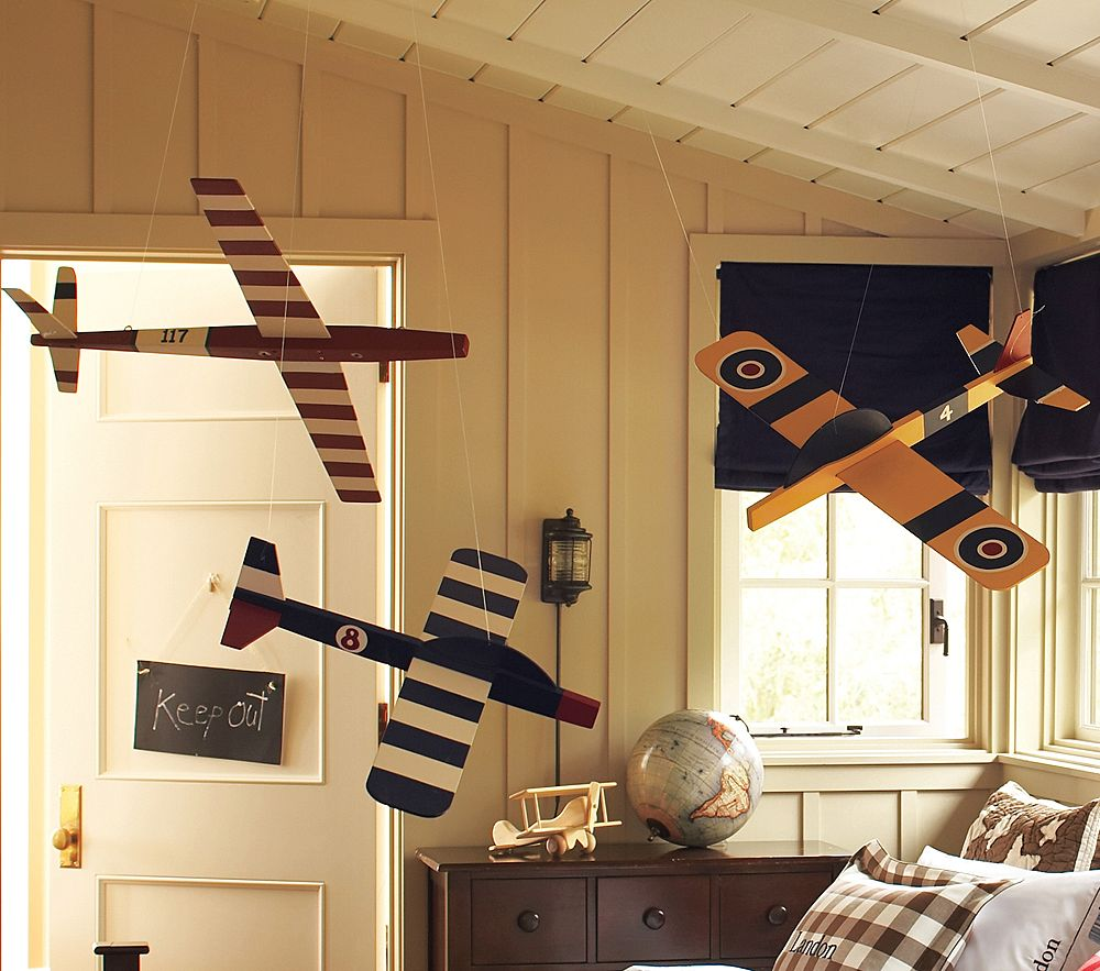 The suite life big boy room inspiration for Airplane decoration