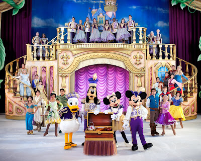 disney on ice treasure trove finale with mickey, minnie & princesses