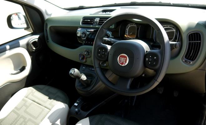 Fiat Panda 4x4 front interior