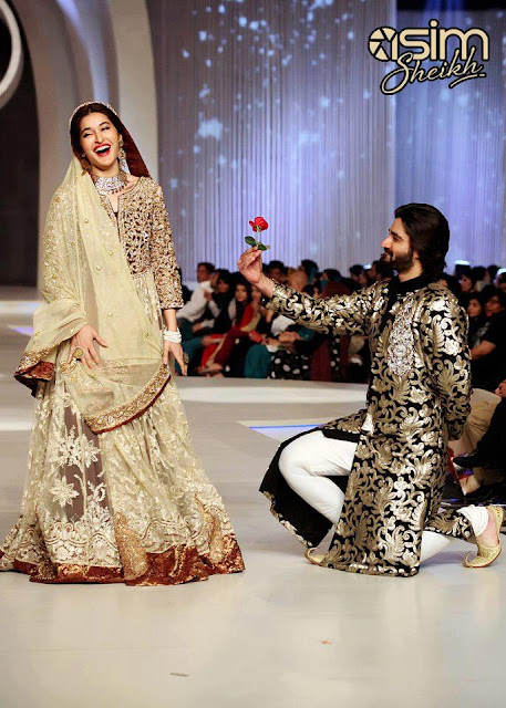 Pakistan Celebrities Pantene Bridal Couture Week 2013