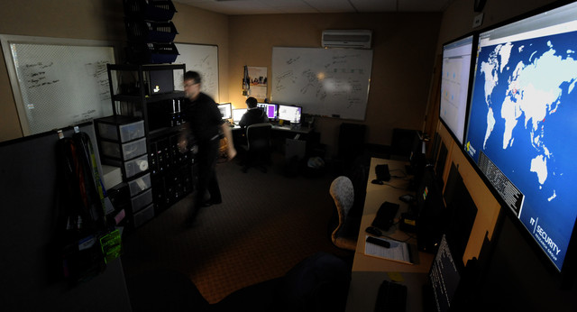 U.S. spy catchers were zeroing in on Chinese hackers a few years ago. Photographer: Stephen Morton/Bloomberg