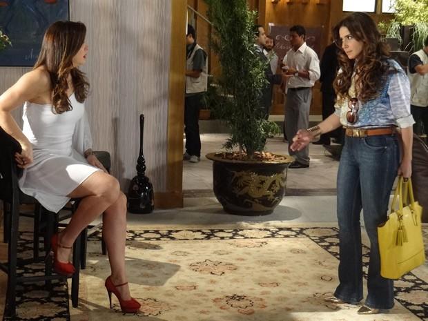 Salve Jorge: Helô acusa Lívia de matar Rachel