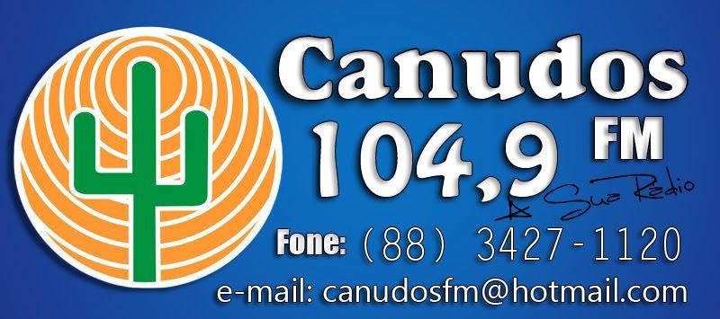 Canudos Fm 104,9                             A Sua Rádio...!