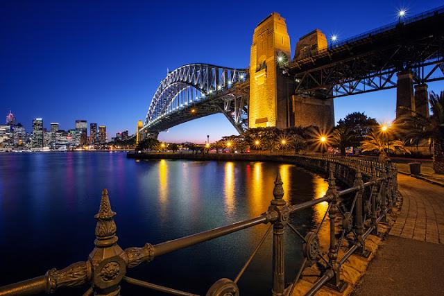 vé máy bay đi Sydney giá rẻ - Cầu Sydney