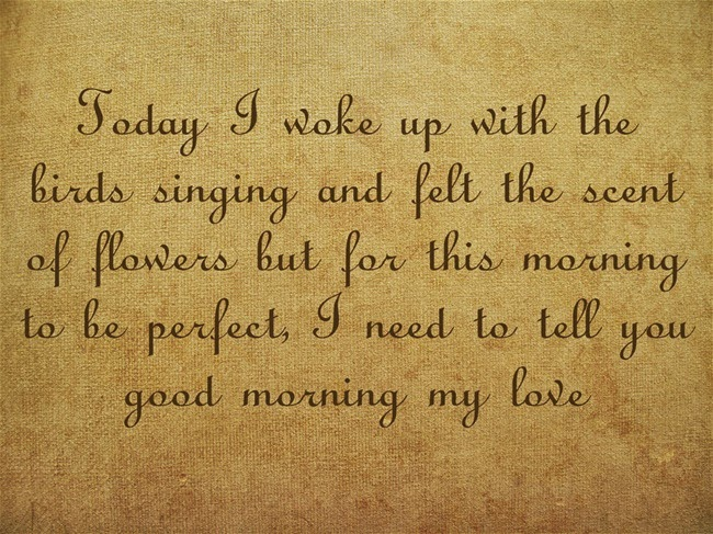 Romantic Good Morning Quotes