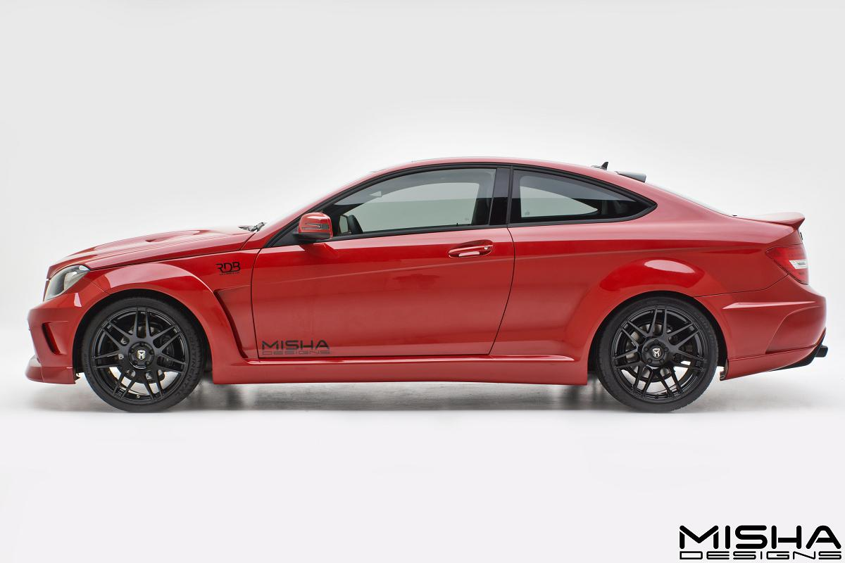 all cars nz mercedes benz c class coupe by misha designs. Black Bedroom Furniture Sets. Home Design Ideas