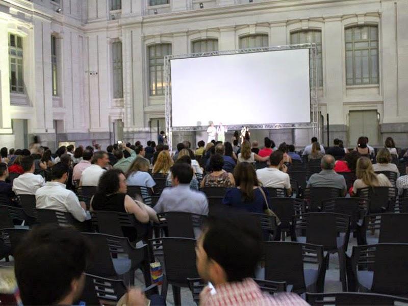 Última semana de proyecciones de 'The cinema' en Cibeles
