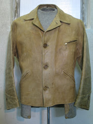 30's PONY-HIDE A-1 STYLE LEATHER JACKET