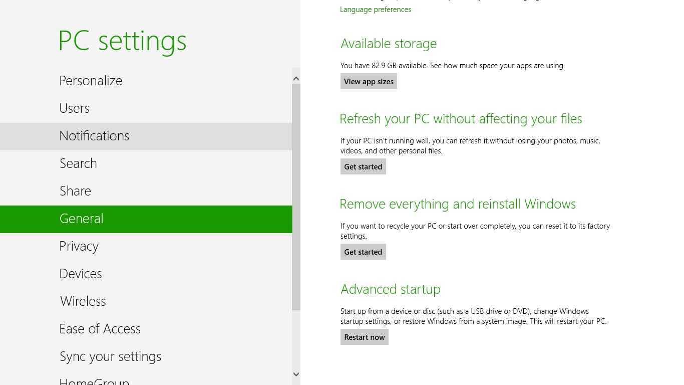 Memperbaiki Windows 8 tanpa Install Ulang | A G U S C A H Y A N T O