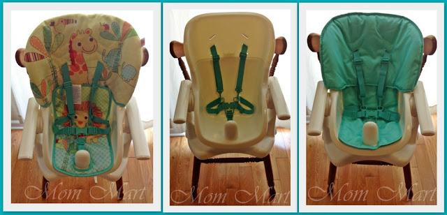 Bright Starts Sunnyside Safari Chair Top High Chair