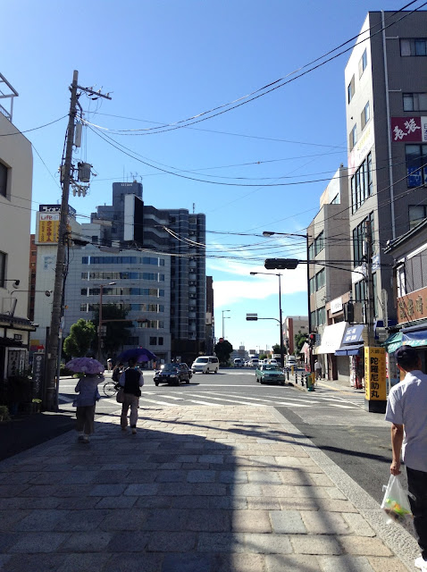 Street in Tennouji, Osaka