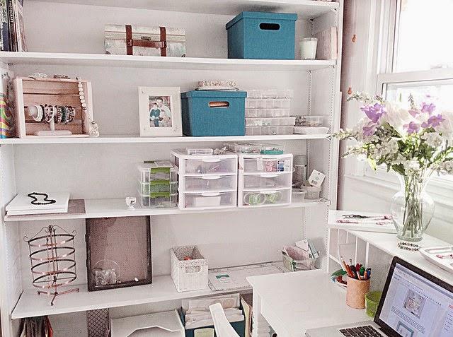 shelve organization