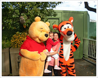 Pooh Bear & Tigger