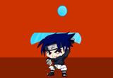 لعبة ساسكي صديق ناروتو و مهمة تدمير الحائط المتحرك Sasuke Arkanoid