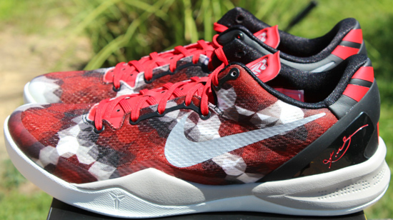 Kobe 9 Elite Sport Red Wolf Grey Black 555035 601