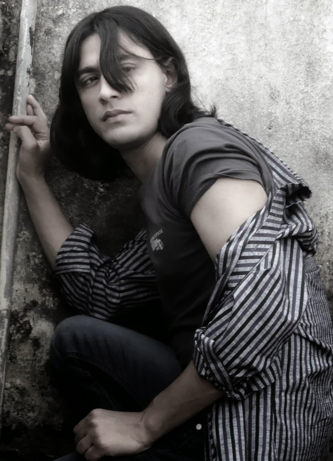Rajkumar Patra Looking sexy and disheveled in worn jeans, a T-shirt  by df creation Session 2014