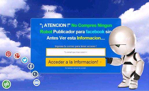 PCPB para Robot Autopublicador en facebook