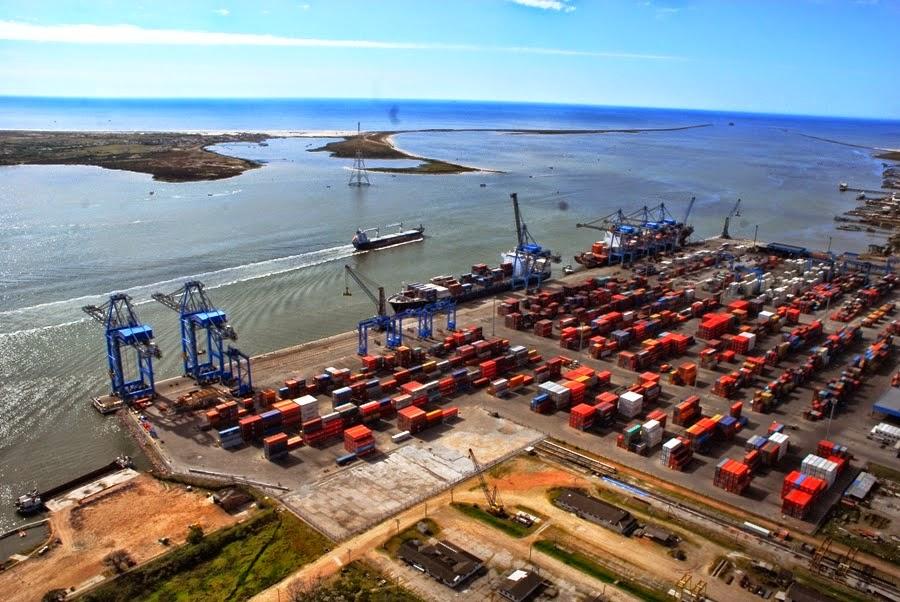 Porto em Rocha no Uruguai - Um Asno