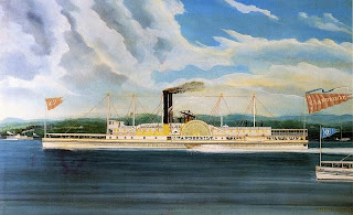 color illustration of the C. Vanderbilt from Wikipedia