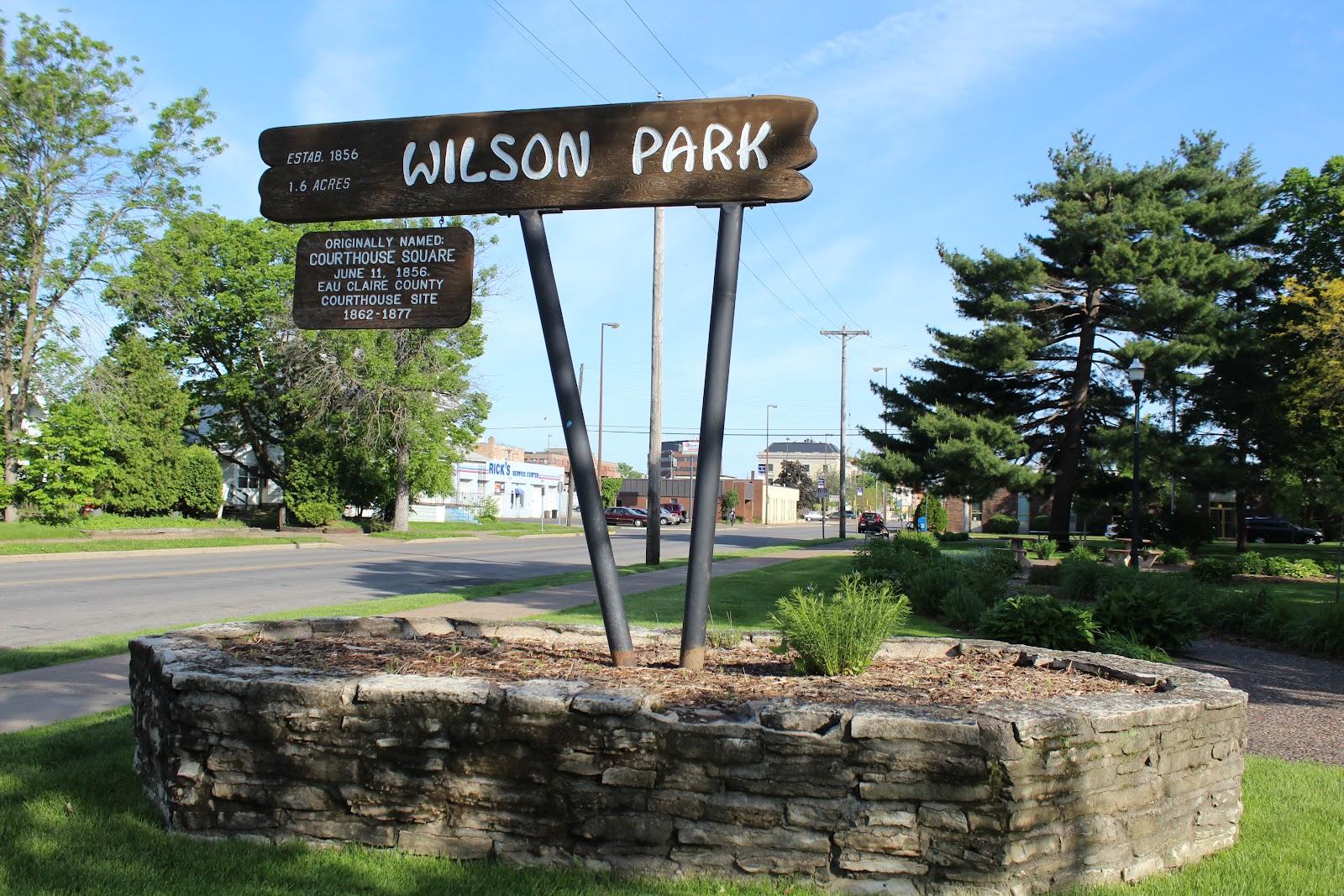 Wisconsin Historical Markers Wilson Park