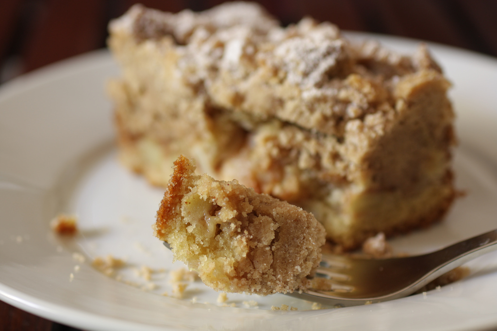 ... Kitchen: Apple Coffee Cake with Crumble Topping and Brown Sugar Glaze