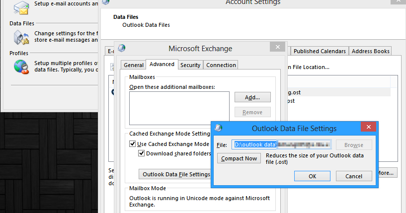 how to open old ost file in outlook 2013