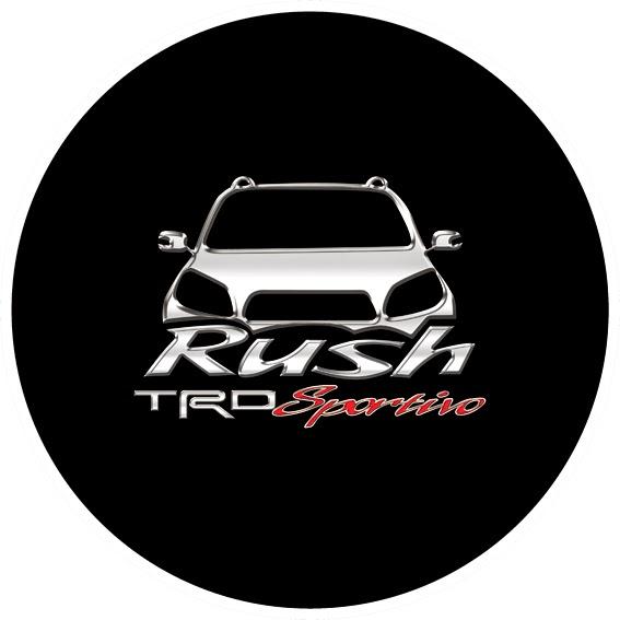 Tutup Ban Serep Mobil Rush 2014