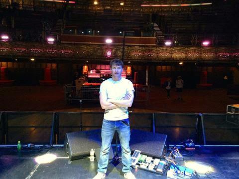 James Blunt Pedalboard 2014