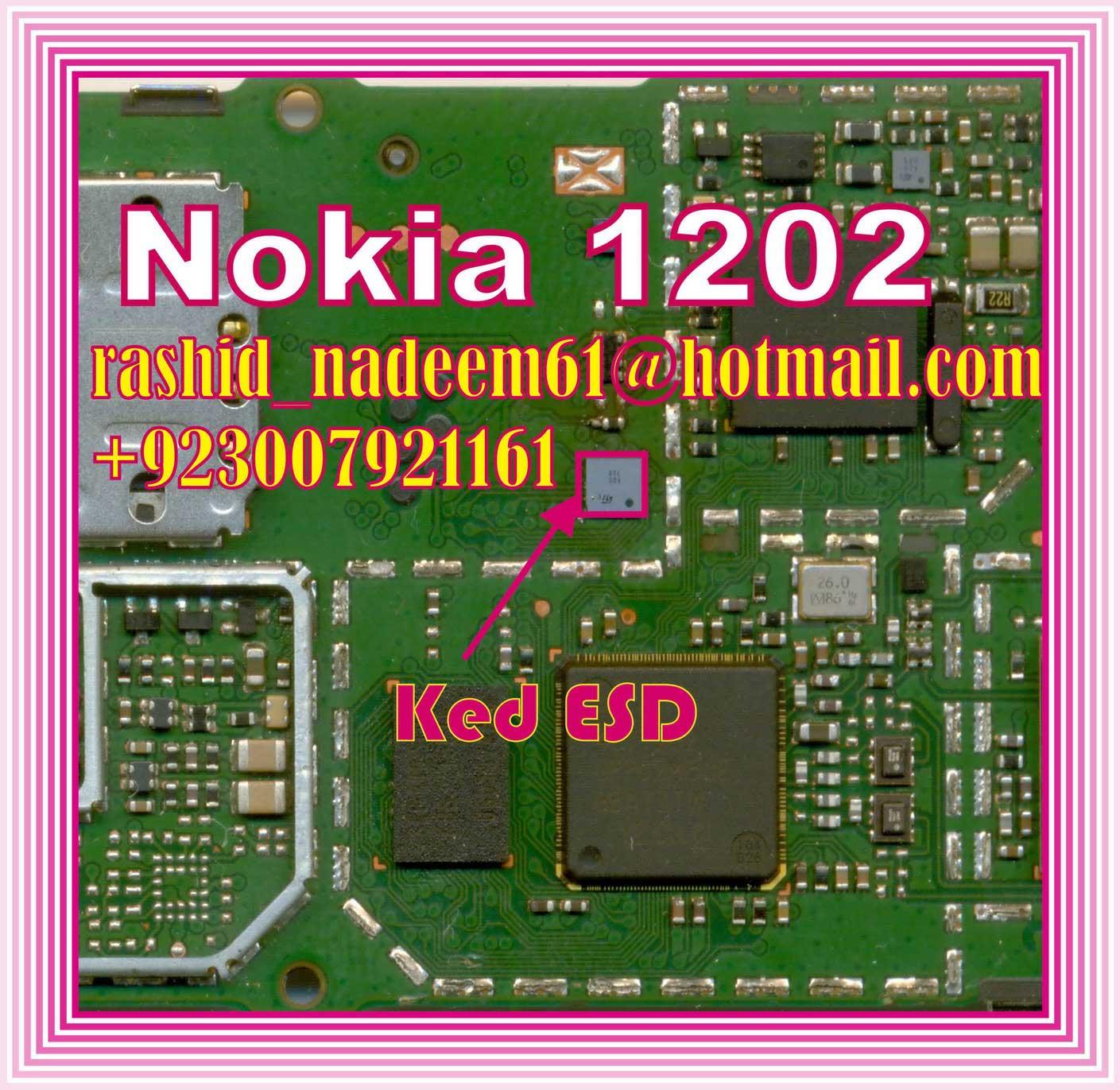 Nokia 1202  1203  1661  1662  5030 Solution