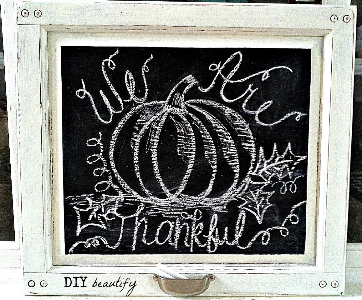 Easy DIY Chalkboard From an Old Cupboard Door & How to Make a Chalkboard From a Cupboard Door | DIY beautify Pezcame.Com