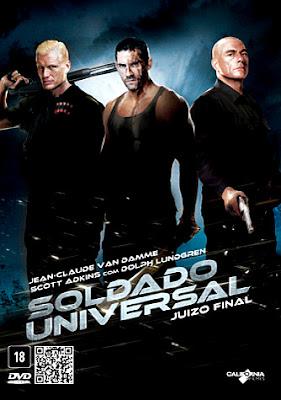 Filme Poster Soldado Universal : Juízo Final DVDRip XviD Dual Audio & RMVB Dublado