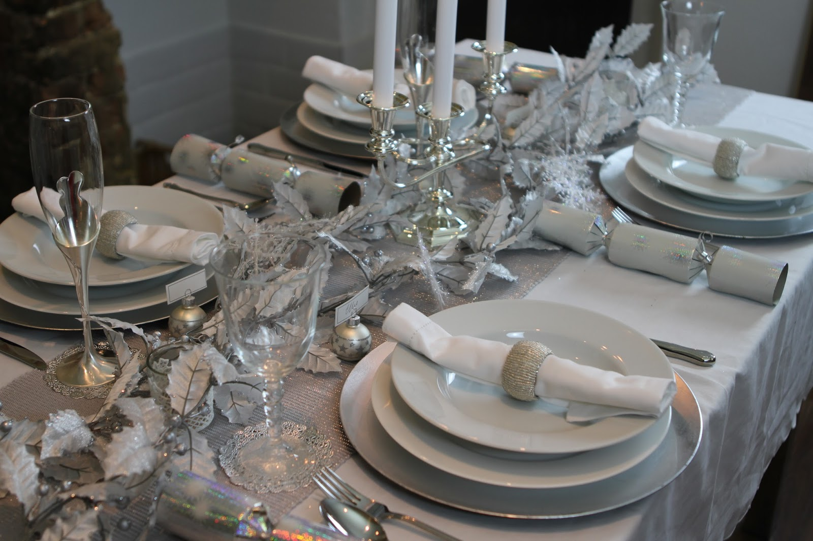 The Table setting : silver table setting - Pezcame.Com