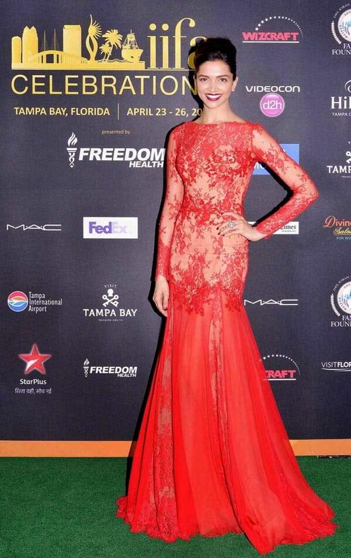 Deepika Padukone in Zuhair Murad