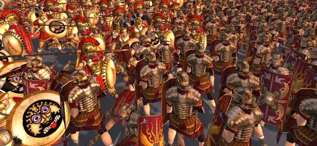 Batalla del ejercito romano