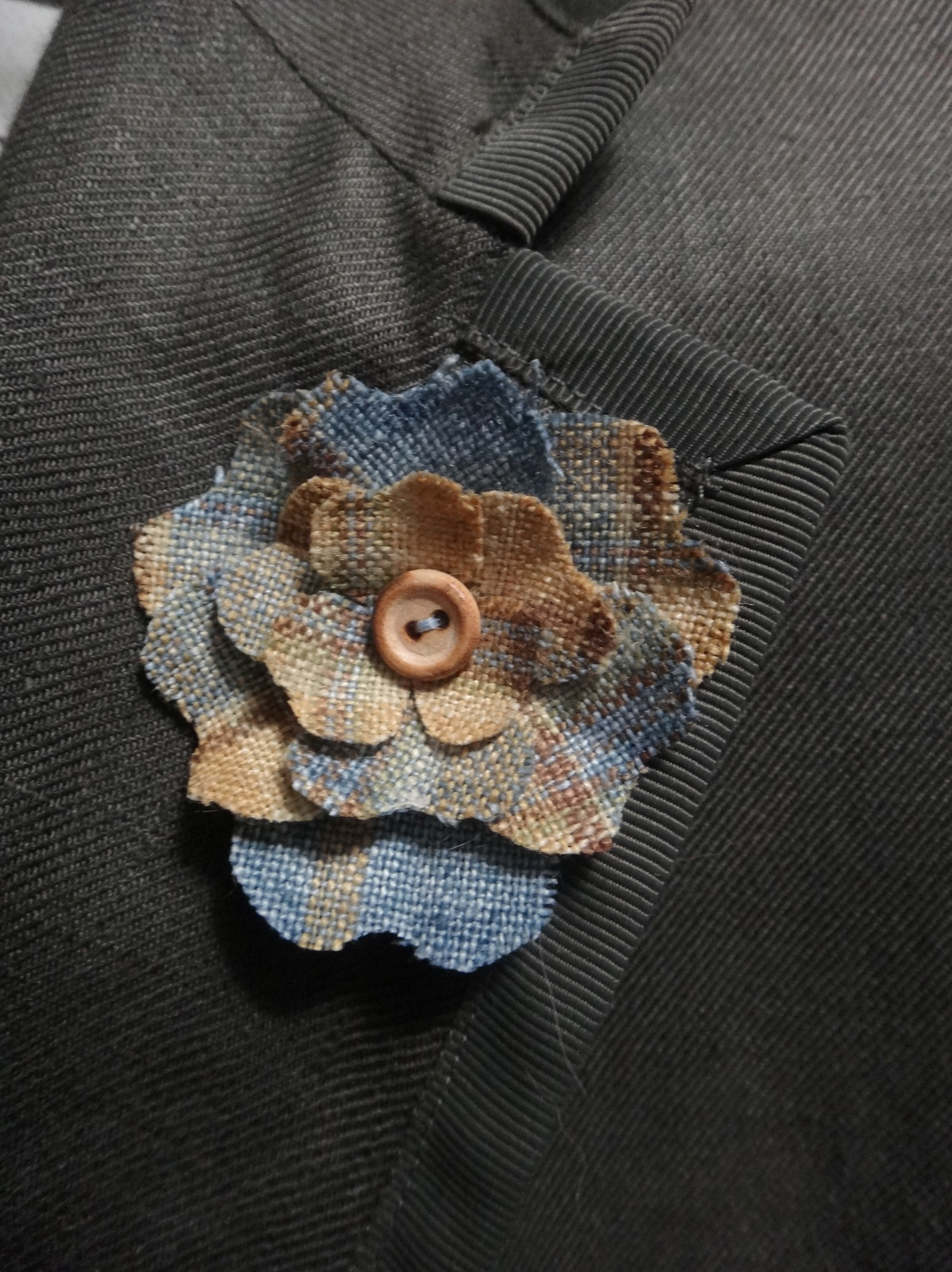 The shy stylist a mens style blog diy lapel flower handmade lapel flower jacket by bamford sons mightylinksfo