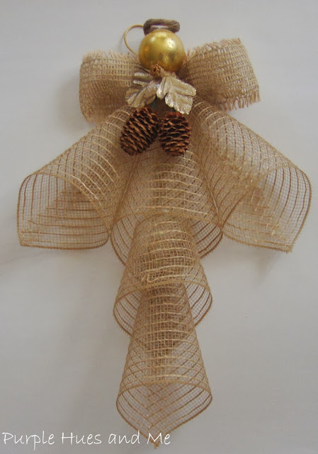 ribbon mesh angel