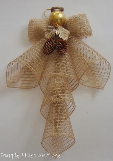 ribbon mesh angel